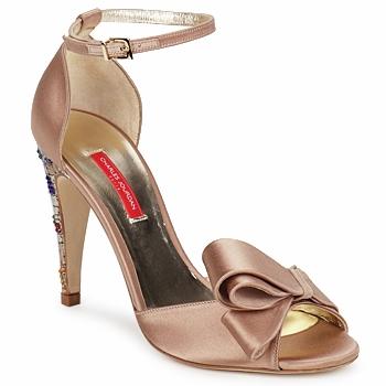 Čevlji  Ženske Sandali & Odprti čevlji Charles Jourdan MANRAY Peščena