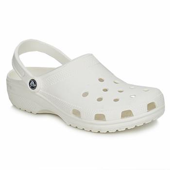 Čevlji  Cokli Crocs CLASSIC Bela
