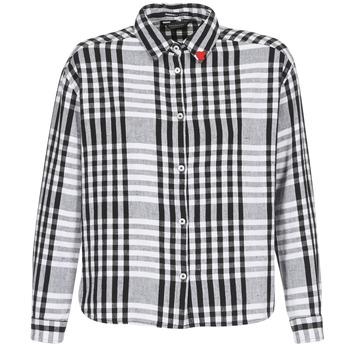 Oblačila Ženske Srajce & Bluze Maison Scotch FRINDA Črna / Bela