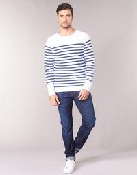 Oblačila Moški Jeans straight Scotch & Soda RALSTON Modra
