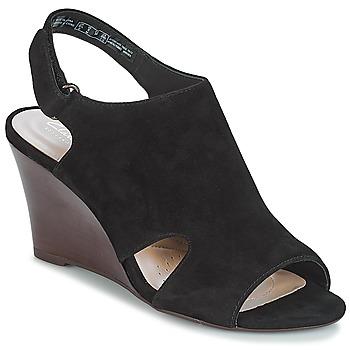 Čevlji  Ženske Sandali & Odprti čevlji Clarks Raven Mist Črna / Sde