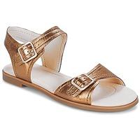 Čevlji  Ženske Sandali & Odprti čevlji Clarks Bay Primrose Bronze / Metalíza