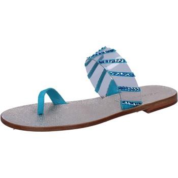 Čevlji  Ženske Sandali & Odprti čevlji Eddy Daniele Sandale AW487 Modra