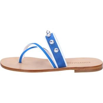 Čevlji  Ženske Sandali & Odprti čevlji Eddy Daniele Sandale AW06 Modra