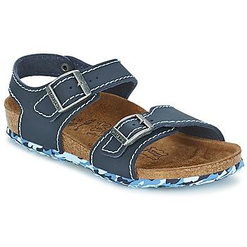 Čevlji  Deklice Sandali & Odprti čevlji Birki's NEW YORK Neoprene / Modrá