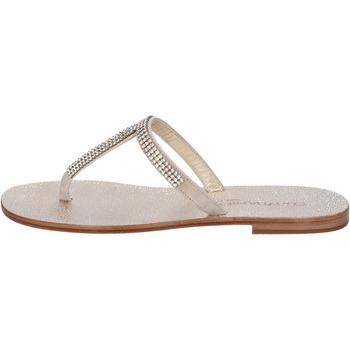 Čevlji  Ženske Sandali & Odprti čevlji Eddy Daniele Sandale AW15 Bež