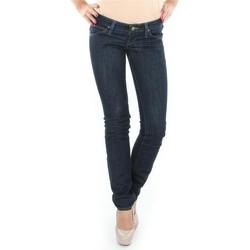 Oblačila Ženske Jeans straight Lee Lynn L340AGNA black