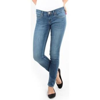Oblačila Ženske Jeans skinny Lee Spodnie Damskie  357SVIX Lynn  Skinny blue
