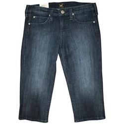 Oblačila Ženske Kratke hlače & Bermuda Lee Capri L352EWNS navy