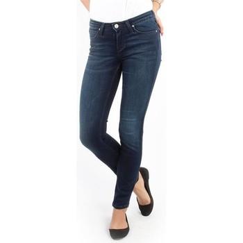 Oblačila Ženske Jeans skinny Lee Scarlett Skinny Pitch Royal L526WQSO navy