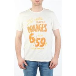 Oblačila Moški Majice s kratkimi rokavi Lee MARCANTILE L668ABBC white