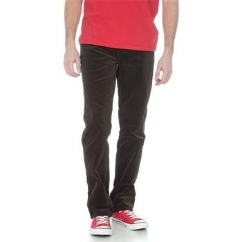 Oblačila Moški Jeans straight Wrangler Texas Stretch W12198160 black