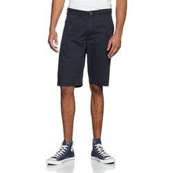 Oblačila Moški Kratke hlače & Bermuda Wrangler Chino Shorts W14MLL49I navy