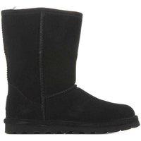 Čevlji  Ženske Škornji za sneg Bearpaw Elle Short 1962W-011 Black II black