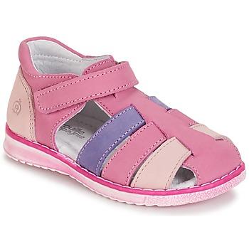 Čevlji  Deklice Sandali & Odprti čevlji Citrouille et Compagnie FRINOUI Vijolična / Rožnata / Fuksija