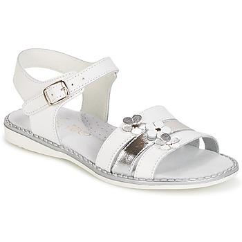 Čevlji  Deklice Sandali & Odprti čevlji Citrouille et Compagnie KATAGUE Bela