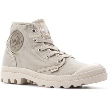 Čevlji  Ženske Visoke superge Palladium Manufacture Pampa Hi 92352-238-M beige