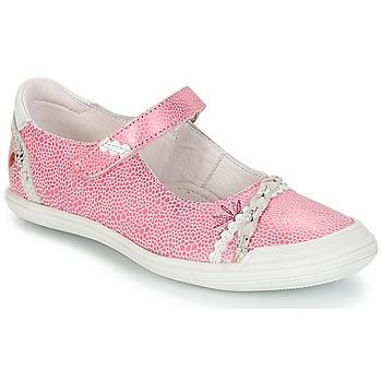 Čevlji  Deklice Balerinke GBB MARION Vte / Rožnato bela / Dpf / Zara