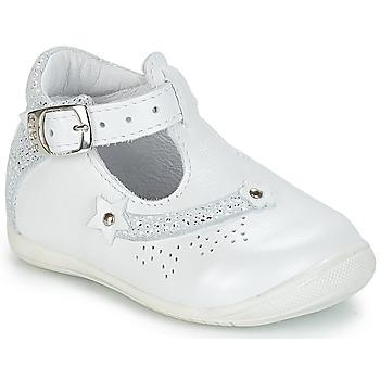 Čevlji  Deklice Sandali & Odprti čevlji GBB PASCALE Vte / Bela / Dpf / Kezia