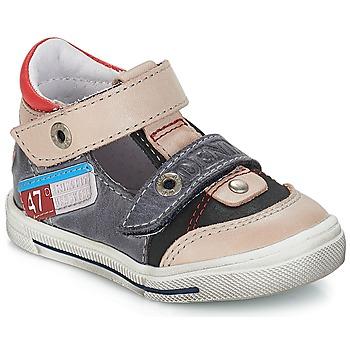 Čevlji  Dečki Sandali & Odprti čevlji GBB PEPINO Vte / Siva-jeans / Dpf / Snow