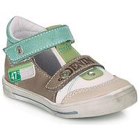 Čevlji  Dečki Sandali & Odprti čevlji GBB PEPINO Bela / Zelena / Taupe