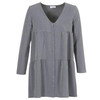 Oblačila Ženske Kratke obleke Betty London JOGURET Siva