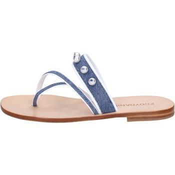 Čevlji  Ženske Sandali & Odprti čevlji Eddy Daniele Sandale AW229 Modra