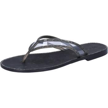 Čevlji  Ženske Sandali & Odprti čevlji Eddy Daniele Sandale AW682 Siva