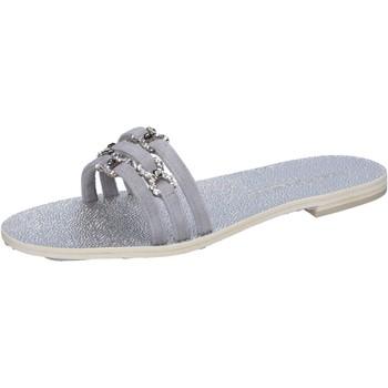 Čevlji  Ženske Sandali & Odprti čevlji Eddy Daniele Sandale AW236 Siva