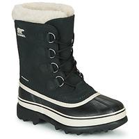Čevlji  Ženske Škornji za sneg Sorel CARIBOU Črna
