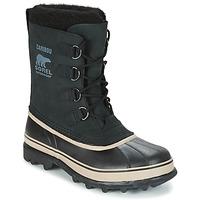 Čevlji  Moški Škornji za sneg Sorel CARIBOU Črna