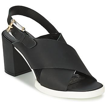 Čevlji  Ženske Sandali & Odprti čevlji Miista DELILIAH Črna