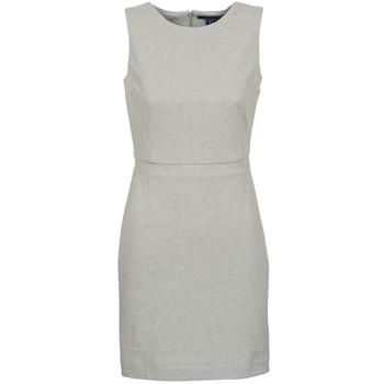 Oblačila Ženske Kratke obleke Gant L. JERSEY PIQUE Siva