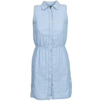 Oblačila Ženske Kratke obleke Gant O. INDIGO JACQUARD Modra