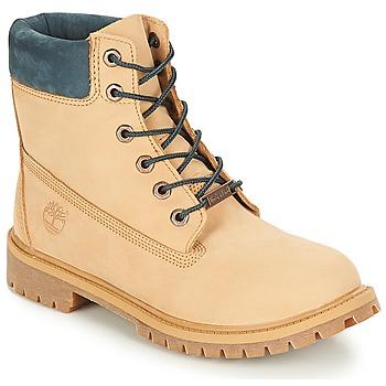 Čevlji  Otroci Polškornji Timberland 6 In Premium WP Boot Iced / Kavna