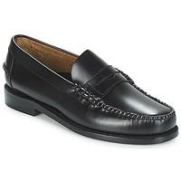 Čevlji  Moški Mokasini Sebago CLASSIC PENNY BRUSHED Črna