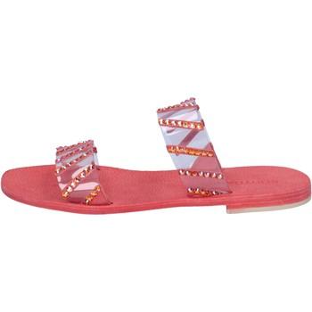 Čevlji  Ženske Sandali & Odprti čevlji Eddy Daniele Sandale AW463 Rdeča