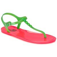 Čevlji  Ženske Sandali & Odprti čevlji Love Moschino JA16381G0KJN180A Zelena / Rožnata