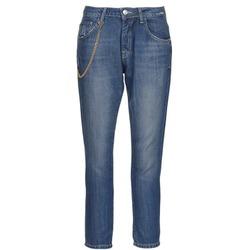 Oblačila Ženske Jeans straight Gaudi AANDALEEB Modra