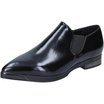 Čevlji  Ženske Mokasini Francescomilano BX327 Črna