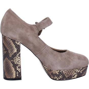 Čevlji  Ženske Salonarji Emanuélle Vee črpalke čevlje BX385 Bež