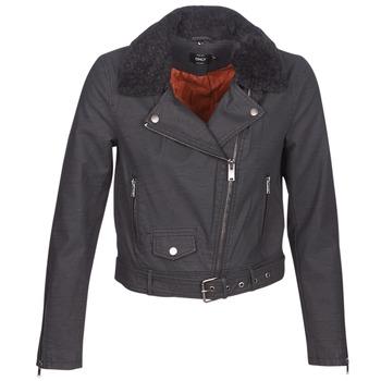 Oblačila Ženske Usnjene jakne & Sintetične jakne Only ONLCAROL Črna