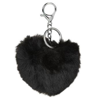 Tekstilni dodatki Ženske Obesek za ključe André HEART Črna