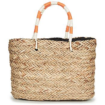 Torbice Ženske Nakupovalne torbe André BAHIA Bež