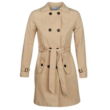 Oblačila Ženske Trenči Betty London JIVELU Bež