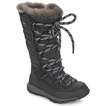 Čevlji  Otroci Škornji za sneg Sorel CHILDREN'S WHITNEY™ LACE Črna