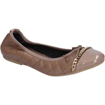 Čevlji  Ženske Balerinke Crown Balerinke BX639 Bež