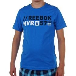 Oblačila Moški Majice s kratkimi rokavi Reebok Sport Actron Graphic Modra