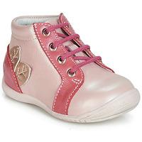 Čevlji  Deklice Visoke superge GBB FRANCKIE Rožnata
