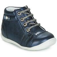 Čevlji  Deklice Visoke superge GBB NICOLE Modra